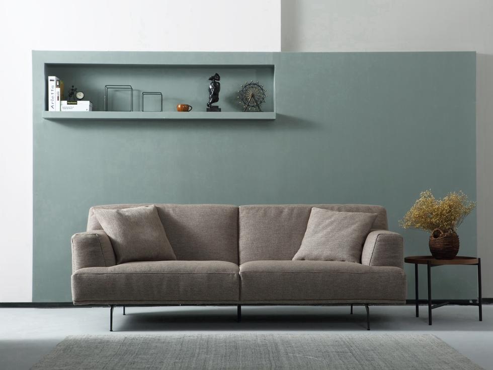【INCHEE原治】现代   简约  意大利风格  高端  布艺  三人位沙发