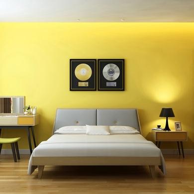 【天伦之乐】北欧风格卧室家具床 大洋彼岸北欧丹麦风情 现代简约优质多层实木1.5米 1.8米双人床 GD-A001QB