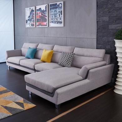 【雅蕾斯】俄罗斯落叶松底架 可拆洗布艺沙发 现代简约风格 小户型沙发